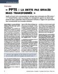 Interview : « PPTE : LA DETTE PAS EFFACÉE MAIS TRANSFORMÉE »