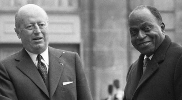 FOCCART & HOUPHOUET-BOIGNY, LES PÈRES FONDATEURS DE LA FRANÇAFRIQUE
