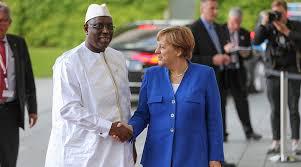 La chancelière Dr. Angela Merkel et le Président Macky Sall