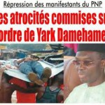 Autodetermination atrocite contre PNP Yark Togo