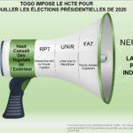 TOGO IMPOSE LE HCTE POUR VÉROUILLER LES ÉLECTIONS PRÉSIDENTIELLES DE 2020